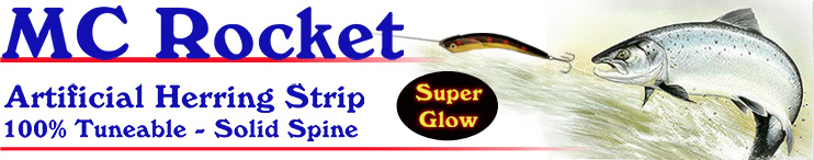 MC Rocket Artificial Herring Strip